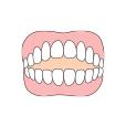前の歯が噛み合わない