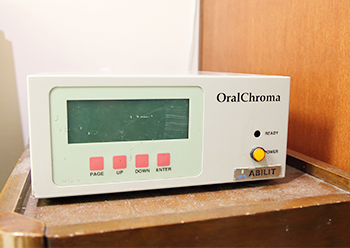 口臭測定器「オーラルクロマ」